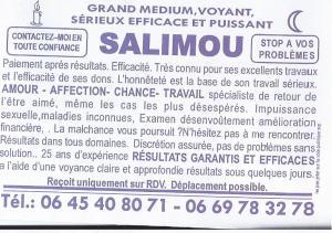 Voyant Salimou